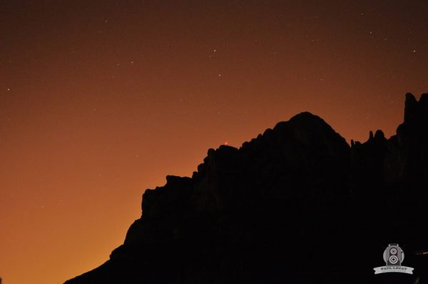 Night vision – Spanish mountain