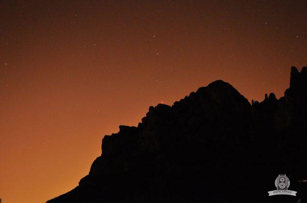 Night vision – Spanish mountain