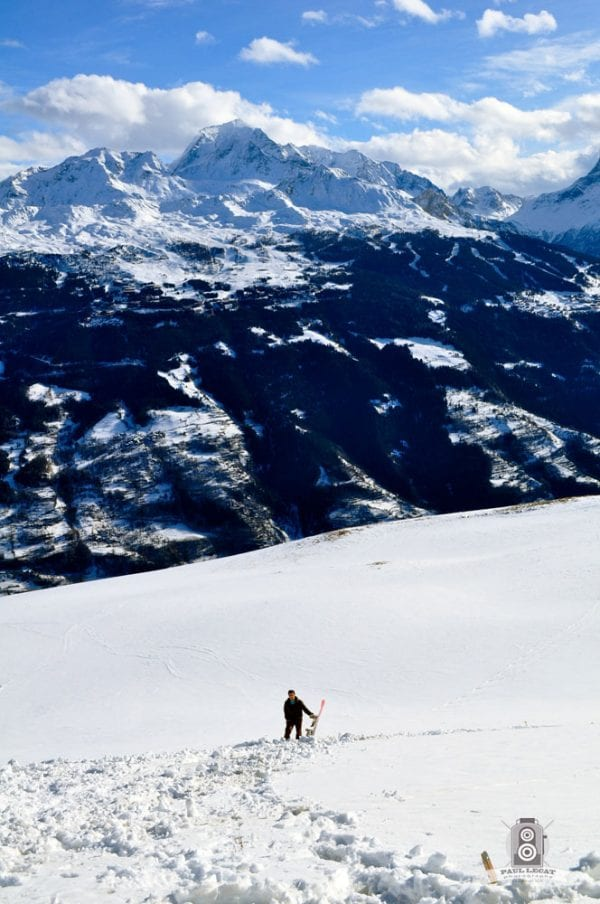 Now go back up – French Alps