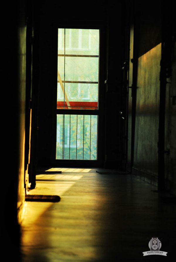 Hallway photography with evening light – Poland
