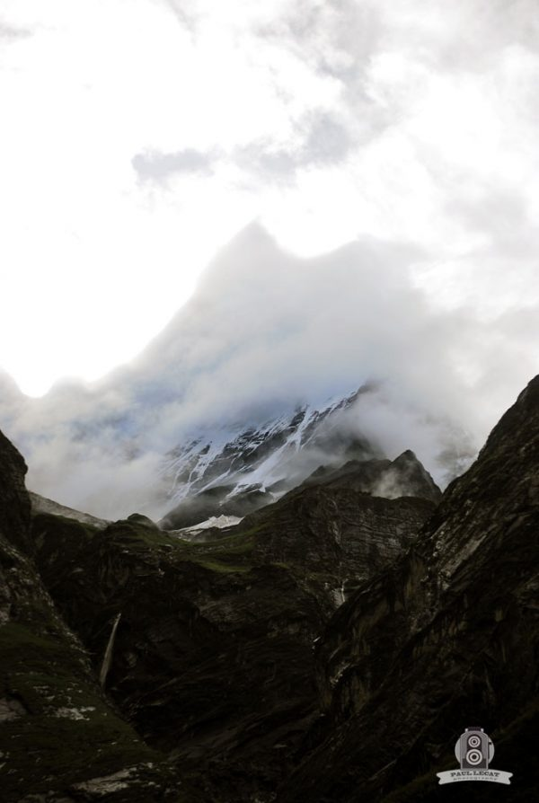 The K2 behind the clouds – Nepal