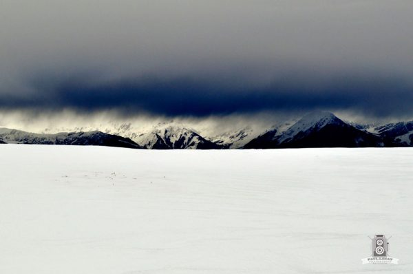 Snow earth and sky – French Alps