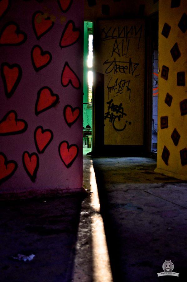 Through the keylock – URBEX © Paul LECAT Photography